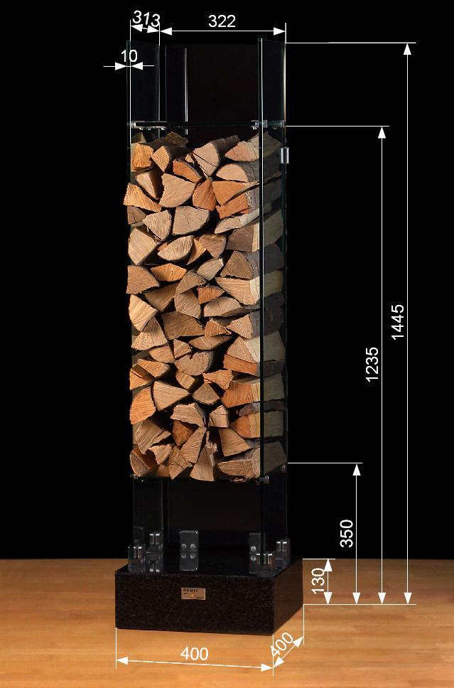 finny art design brennholzvitrine beschreibung. Black Bedroom Furniture Sets. Home Design Ideas